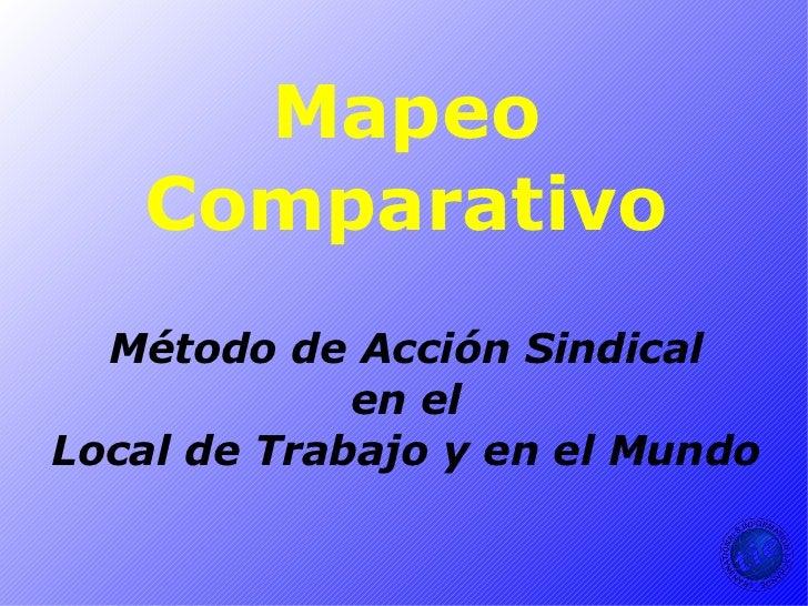 Mapeo comparativo
