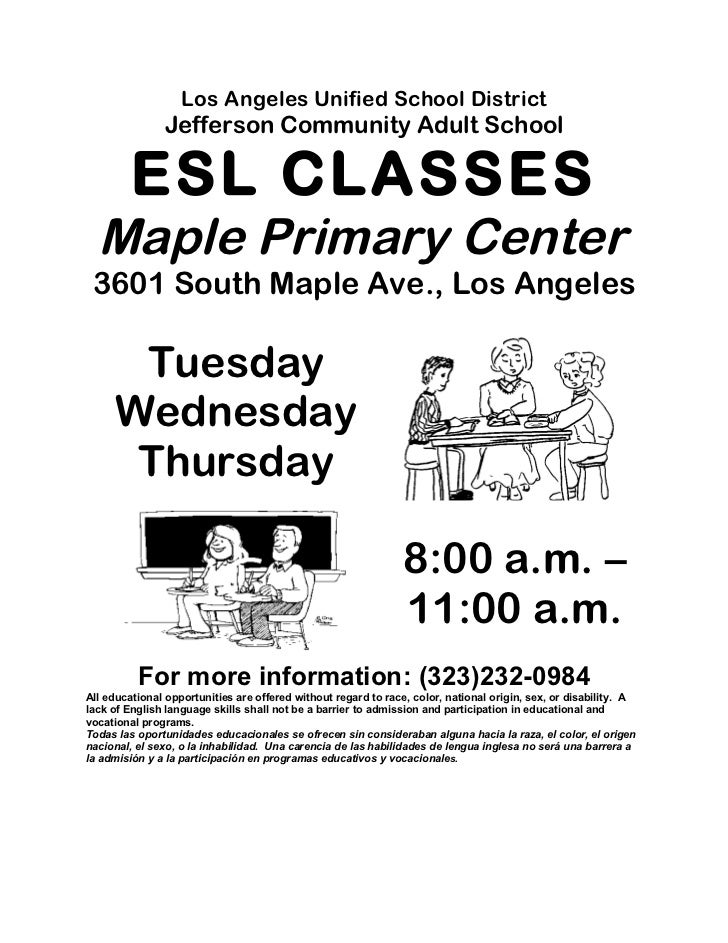 Maple flyer english