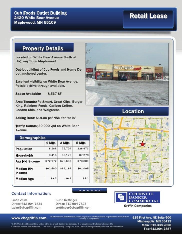 Cub Foods Outlot Building   2420 White Bear Avenue                                                                        ...