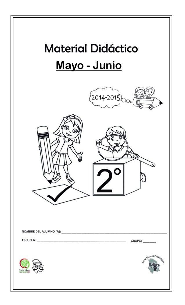 Material De Apoyo Para El Bimestre Mayo Junio   MEJOR CONJUNTO DE
