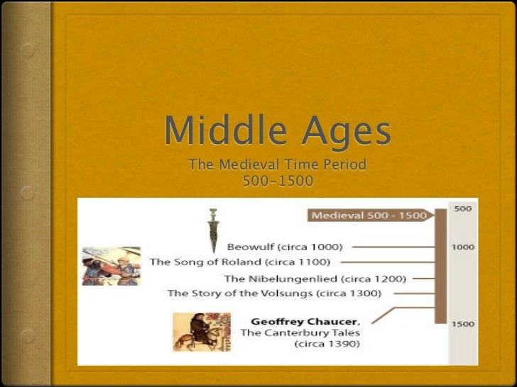 Middle Ages The Medieval Time Period       500-1500