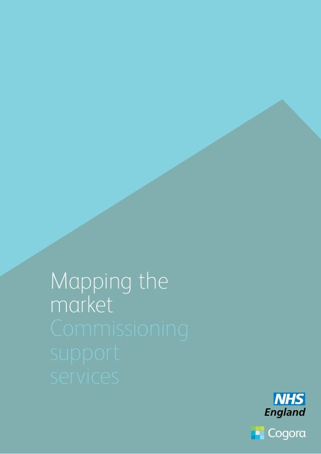 Mapping the market Commissioning support services