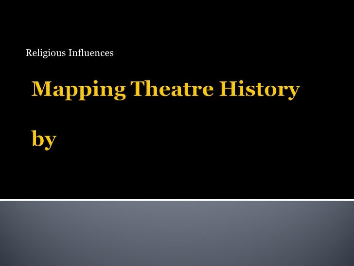 Mapping Theatre History
