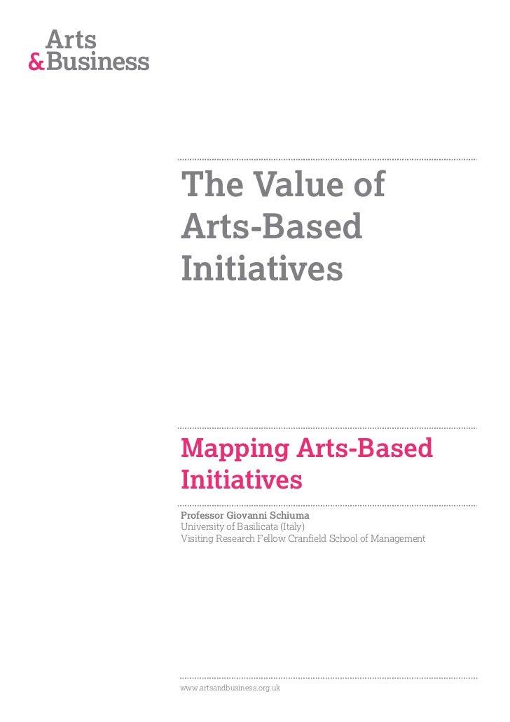 Mapping arts-based Initiatives.   prof schiuma-final-1