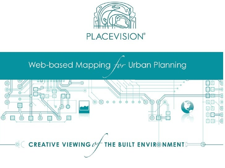 Mapping For Urban Planning