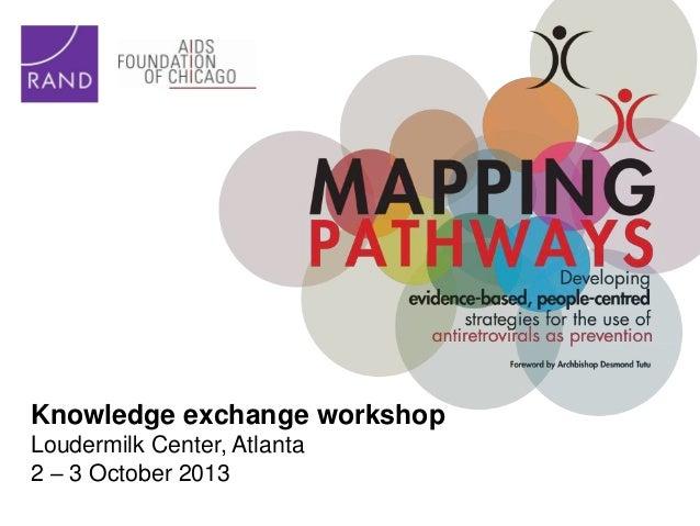 Mapping Pathways - ATLANTA -  Knowledge Exchange Workshop