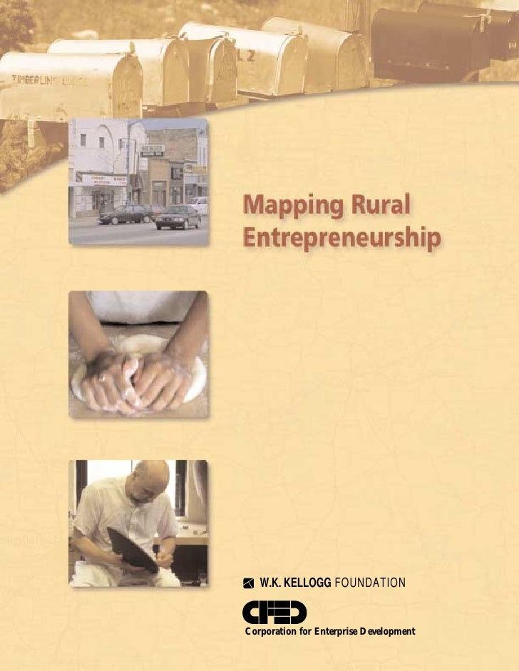 Mapping Rural Entrepreneurship