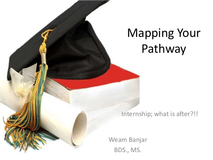 Mapping your pathway