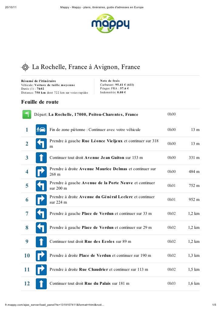 20/10/11                             Mappy - Mappy - plans, itinéraires, guide dadresses en Europe                  La Roc...