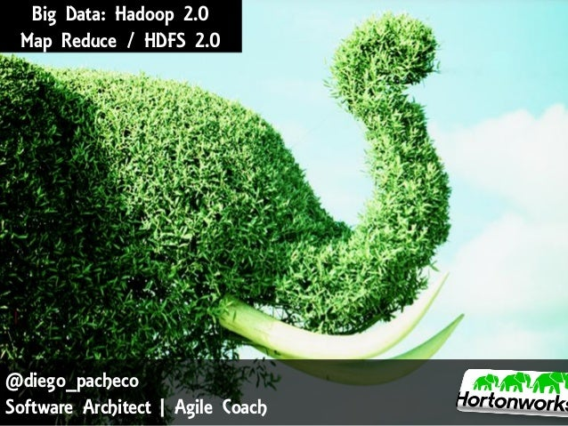 Big Data: Hadoop 2.0 Map Reduce / HDFS 2.0  @diego_pacheco Software Architect | Agile Coach