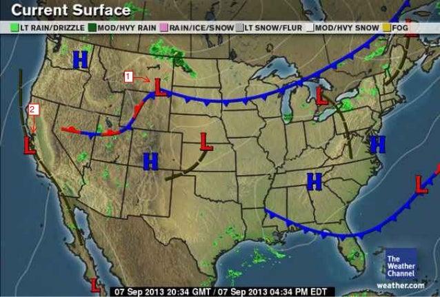 Midlatitude Cyclone Maps Fall 2013
