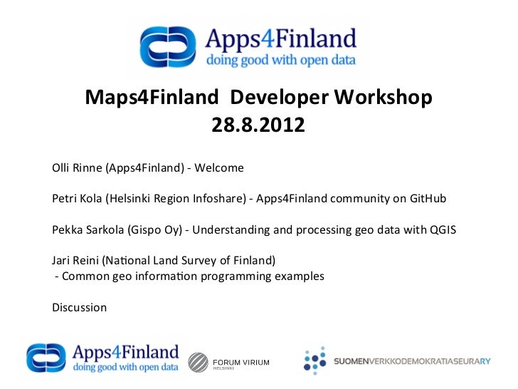 Maps4 finland 28.8.2012, olli rinne