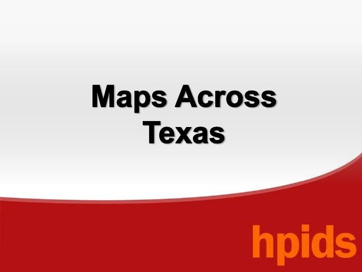 Maps Across Texas