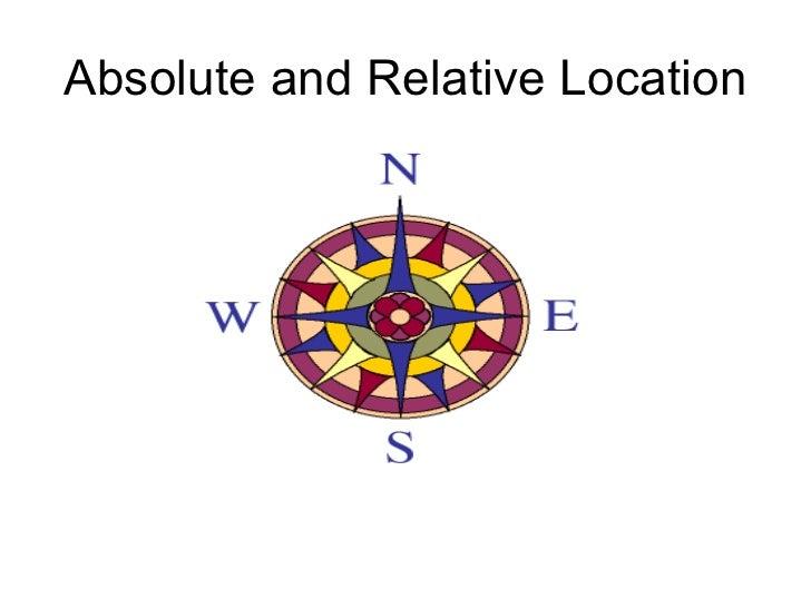 Map skills 4 -relative location