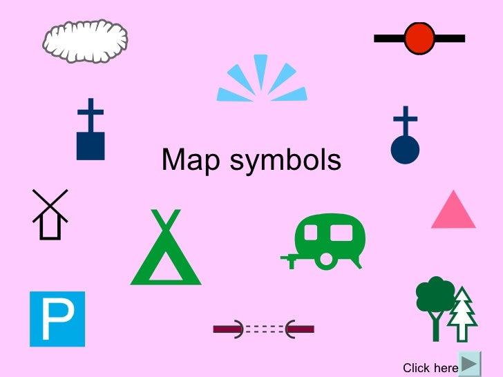 Road Map Legend Symbols - Us highway map symbols