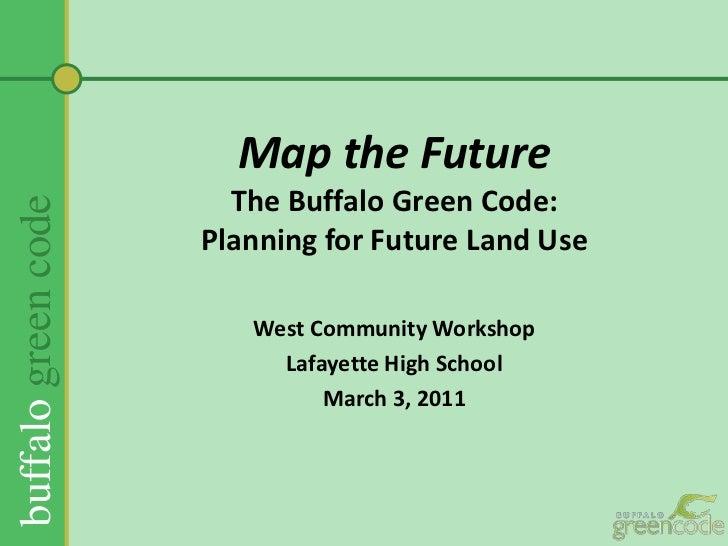 Map the future of Buffalo- West