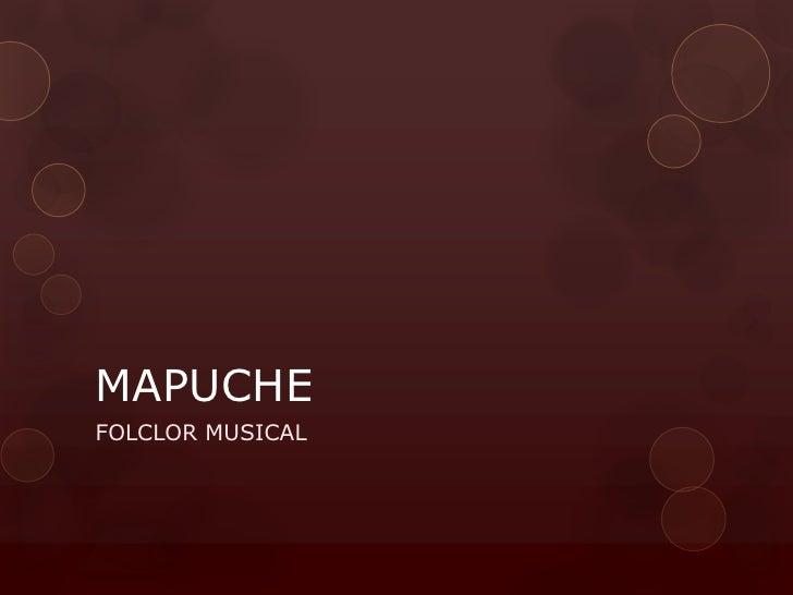MAPUCHEFOLCLOR MUSICAL