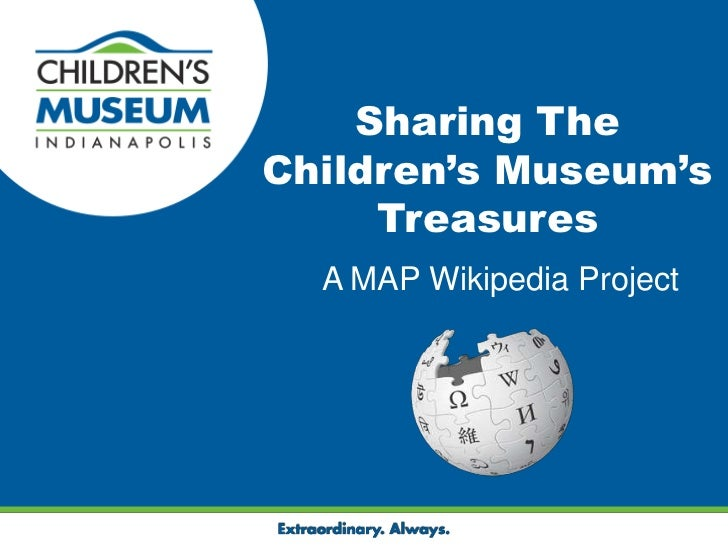 Sharing the Children's Museums Treasures: Lessons Learned