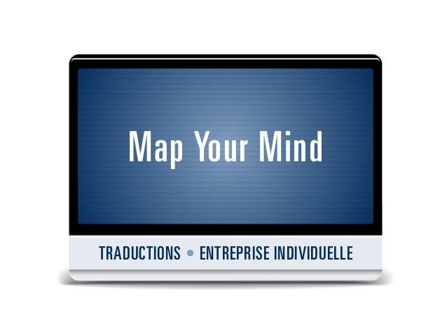 Map your mind - Services de traduction pour les entreprises unipersonnelles