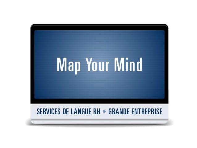 Map your mind - Services RH pour les grandes entreprises