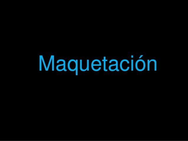 """Maquetación"""