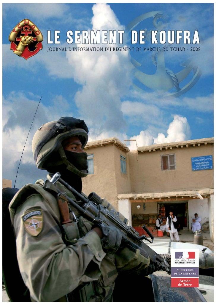 Magazine du régiment de marche du Tchad