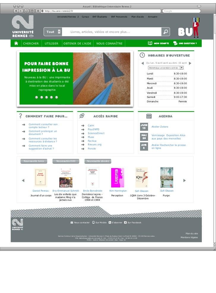 Utopia - site web BU
