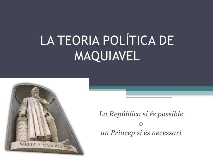 Maquiavel (1469-1527)