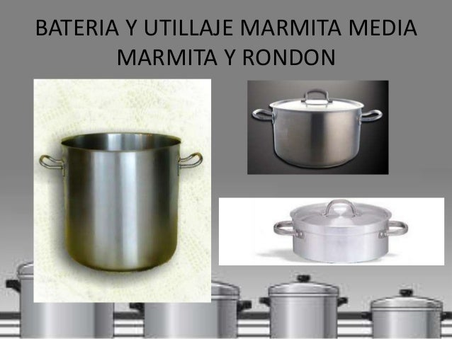 Maquinaria bateria y herramientas for Utillaje cocina