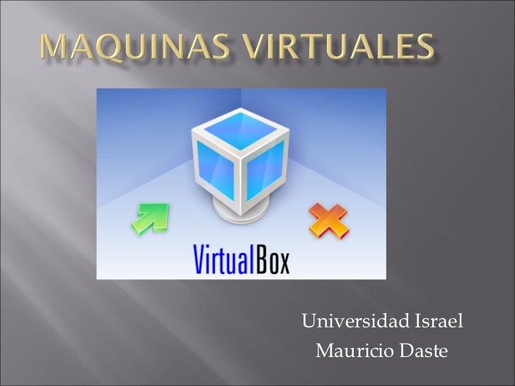 Universidad Israel Mauricio Daste