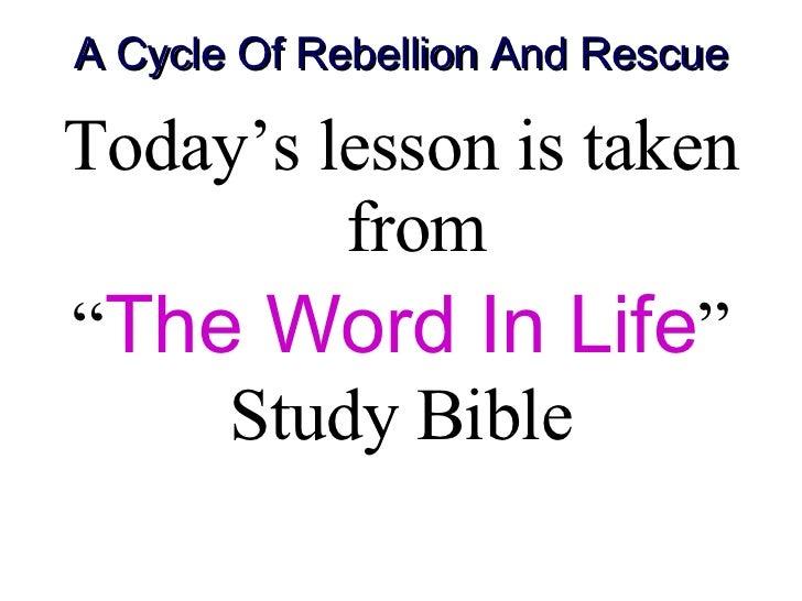 Mar 23-29 God The Son Is A Deliverer