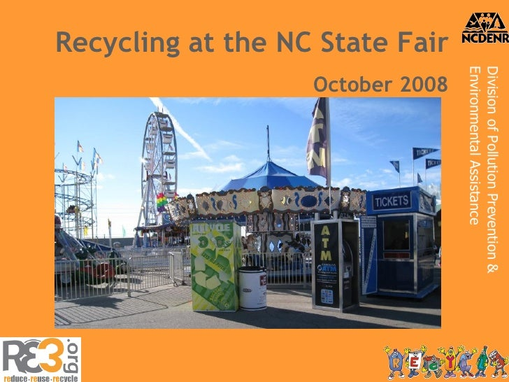Recycling at the NC State Fair October 2008