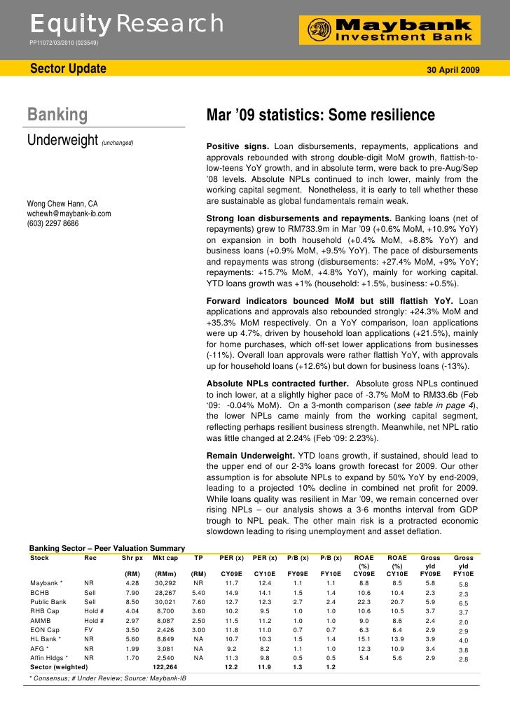 Equity Research PP11072/03/2010 (023549)    Sector Update                                                                 ...