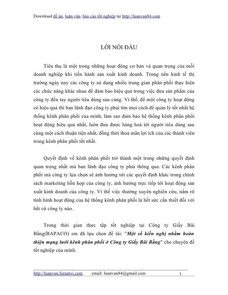 Download đề án, luận văn, báo cáo tốt nghiệp tại http://luanvan84.com                                    LỜI NÓI ĐẦU     T...