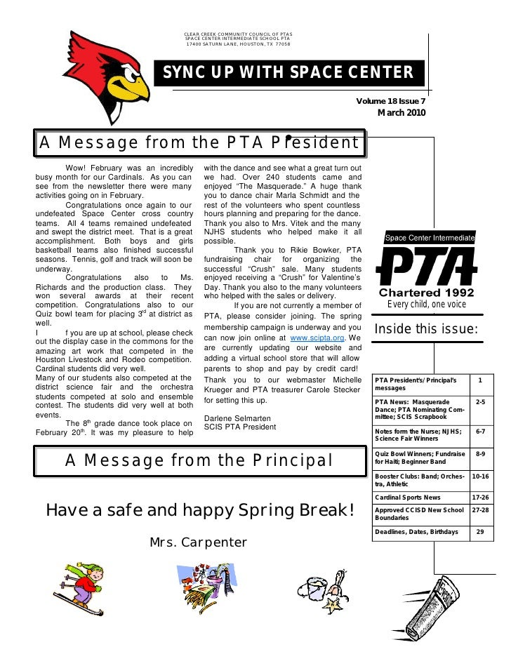 Mar 2010 Newsletter Draft 2010 3 3