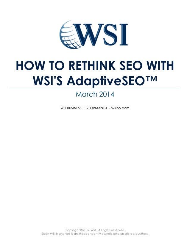 Referencement Google, SEO - une nouvelle approche pérenne pour être en première page