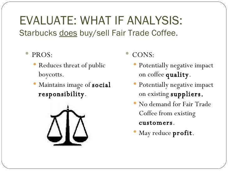 fair trade coffee case study essay Fair trade coffee promotes the livelihoods of farmers and protects the environment with standards such as the protection of resources (water and natural vegetation), use of crop diversification, prohibiting the use of.