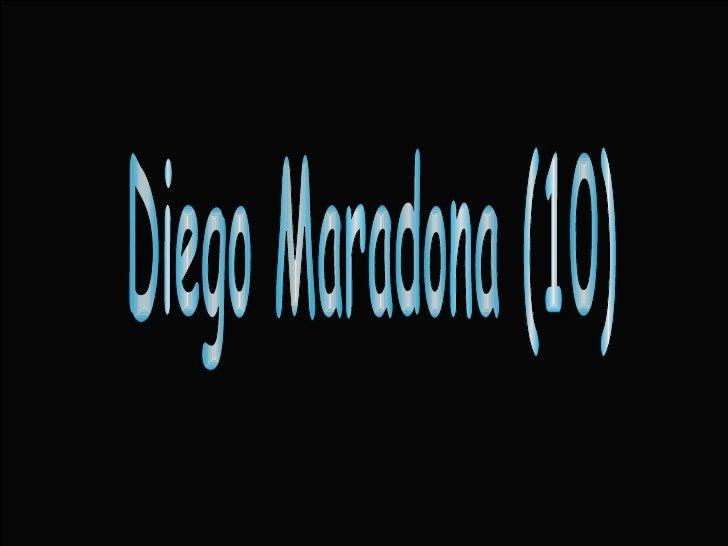Diego Maradona (10)