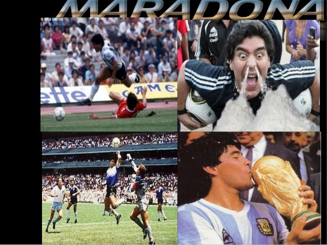 His real name is Armando Diego           Maradona.