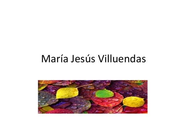 María Jesús Villuendas