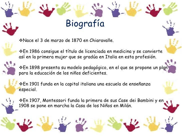 Biografía<br /><ul><li>Nace el 3 de marzo de 1870 en Chiaravalle.