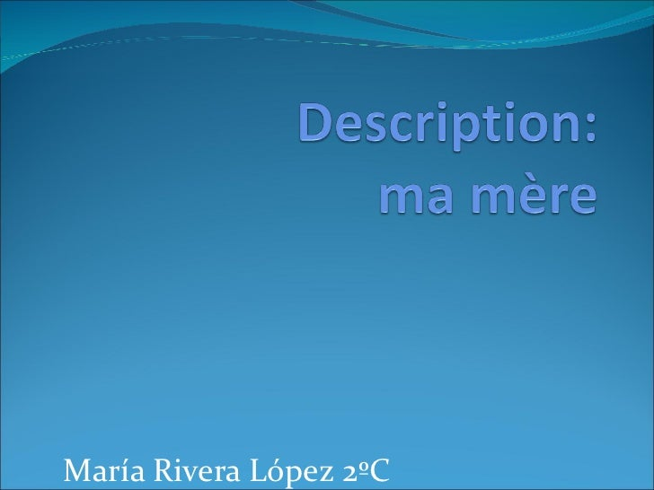 María Rivera López 2ºC