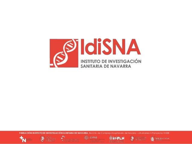 R. COMISIÓN DELEGADA 18-03-2015 FUNDACIÓN INSTITUTO DE INVESTIGACIÓN SANITARIA DE NAVARRA_Recinto de Complejo Hospitalario...