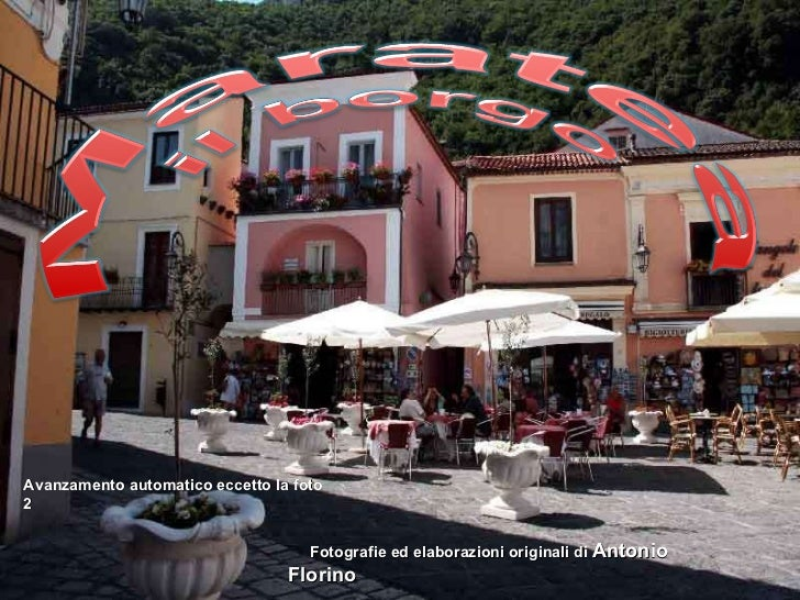 Fotografie ed elaborazioni originali di  Antonio Florino Avanzamento automatico eccetto la foto 2