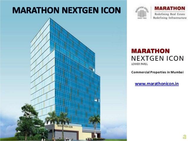 Marathon NextGen Icon - Office Space in Lower Parel Mumbai for Sale