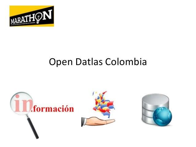 Open Datlas Colombia