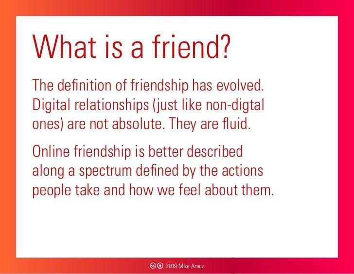 definition of friendship essay
