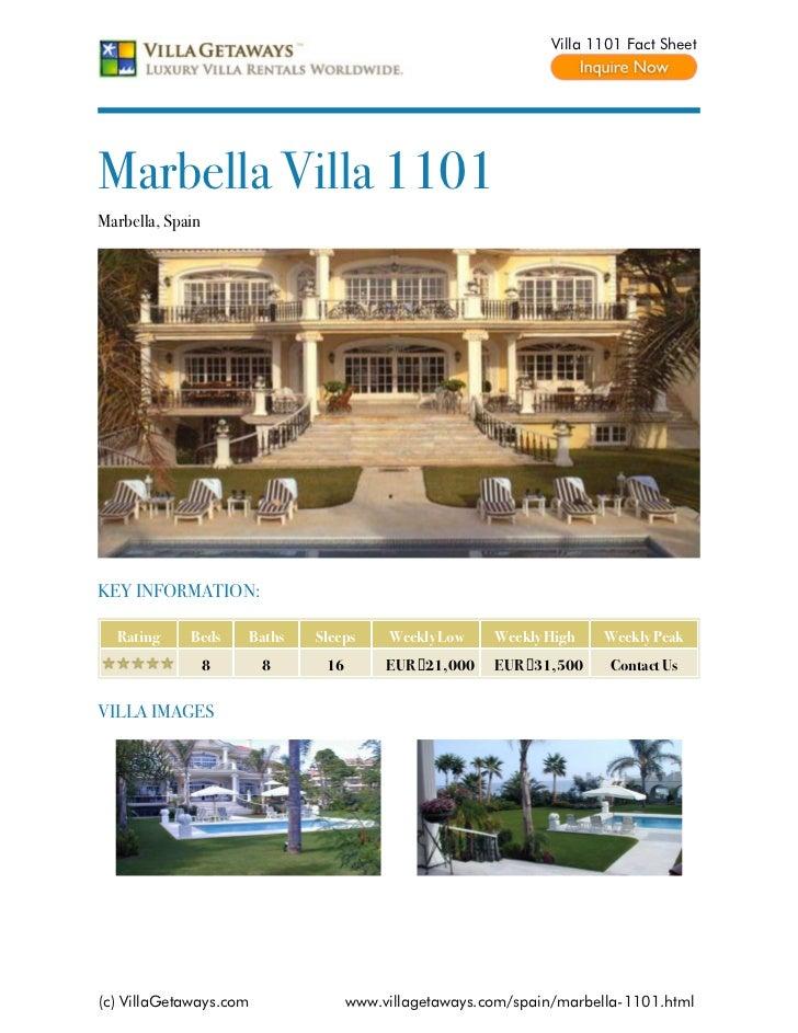 Marbella villa 1101,spain