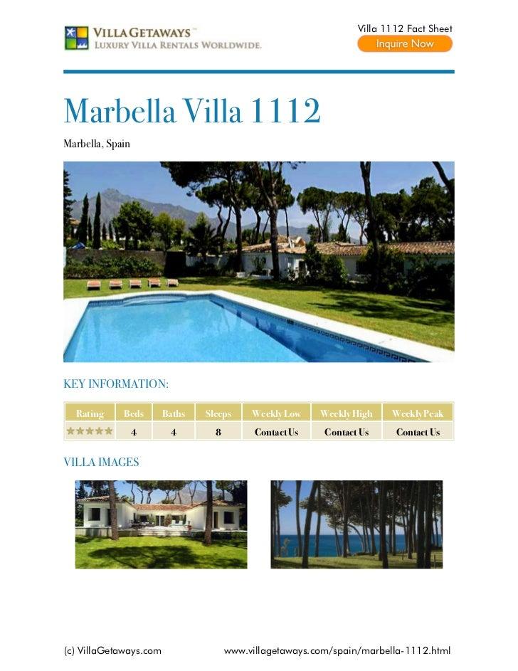Marbella villa 1112,spain