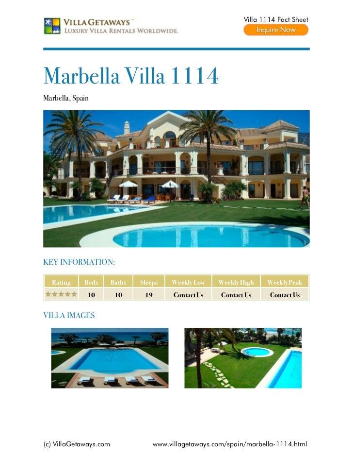 Marbella villa 1114,spain